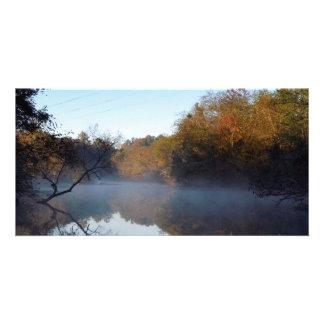 Morning Mist - Contentnea Creek, North Carolina Card