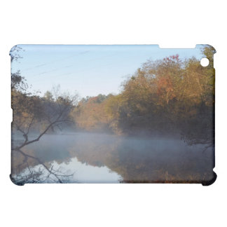 Morning Mist - Contentnea Creek, North Carolina iPad Mini Cover