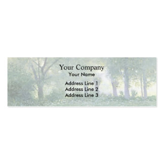 Morning Mist (known as Late Spring) by Guy Rose Double-Sided Mini Business Cards (Pack Of 20)