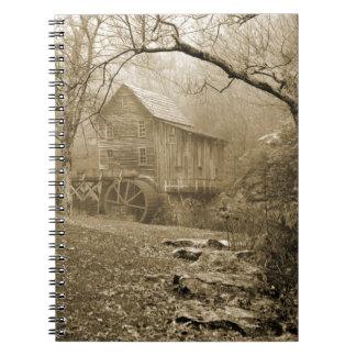 Morning Mist Notebook