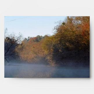 Morning Mist on the Creek Envelopes