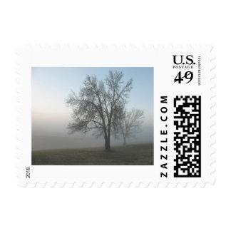 """Morning Mist"" Stamps"