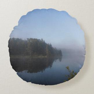 Morning Mist Round Pillow