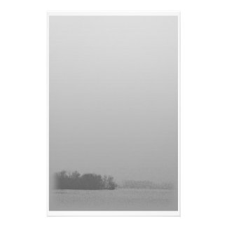 Morning mists stationary customized stationery