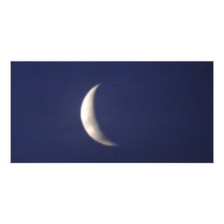 Morning Moon Photo Card