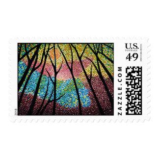 Morning Mosaic Stamp