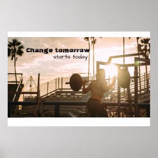 Morning Motivation Poster