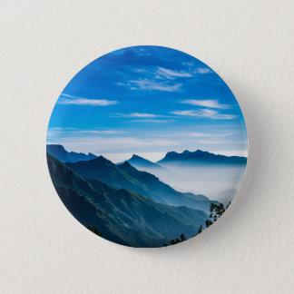Morning Mountain Mist Pinback Button