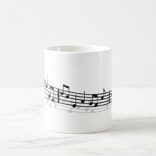 morning music coffee mug