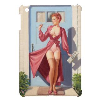 Morning Newspaper Pin-Up Girl iPad Mini Covers