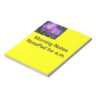 Morning Notes Notepad
