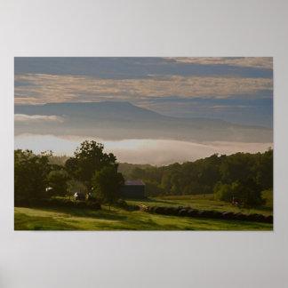Morning on an Arkansas Farm Poster