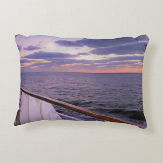 Morning on Deck Accent Pillow