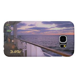 Morning on Deck Monogrammed Samsung Galaxy S6 Case