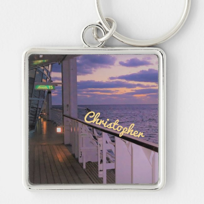 Morning on Deck Personalized