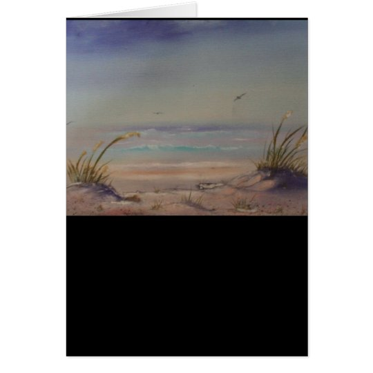 Morning on the Beach Product Line Card