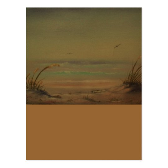 Morning on the Beach Product Line Postcard