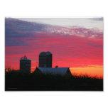 Morning On The Farm Print Photograph