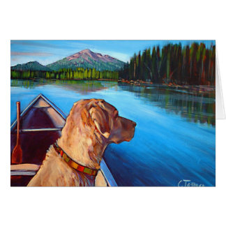Morning on the Lake Card