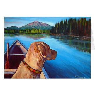 Morning on the Lake Greeting Card