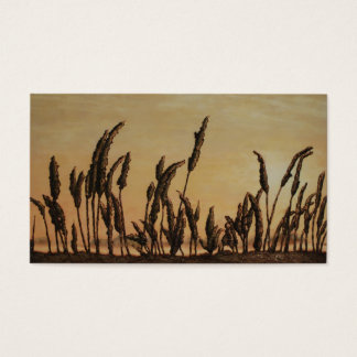 Morning on the Marsh by Fine Artist Alison Galvan Business Card