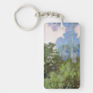 Morning on the Seine near Giverny Claude Monet Keychain