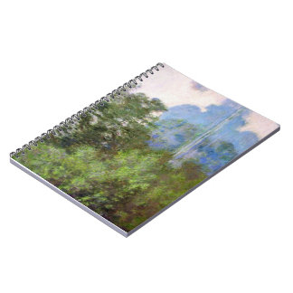 Morning on the Seine near Giverny Claude Monet Notebook