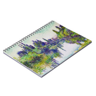 Morning on the Seine, near Vetheuil Claude Monet Notebook