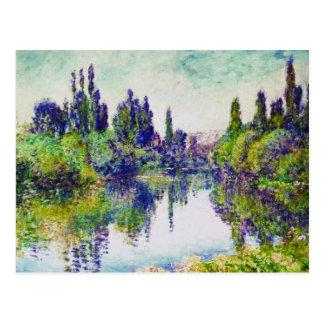 Morning on the Seine, near Vetheuil Claude Monet Postcard