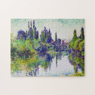 Morning on the Seine, near Vetheuil Claude Monet Puzzle