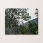 Morning on the Trail to Vernal Falls in Yosemite Jigsaw Puzzle