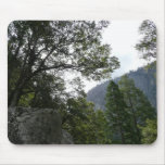 Morning on the Trail to Vernal Falls in Yosemite Mouse Pad