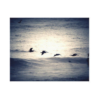 Morning Over the Atlantic Canvas Print