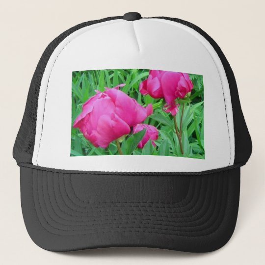 Morning Peonies Trucker Hat