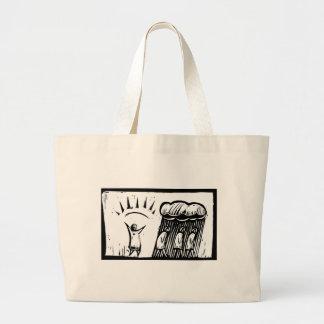 Morning Person Jumbo Tote Bag