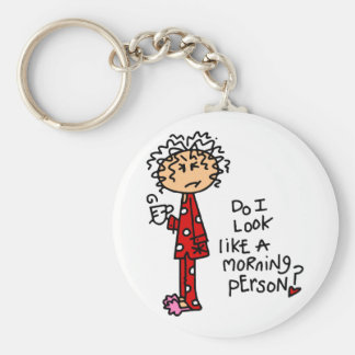 Morning Person? Keychain