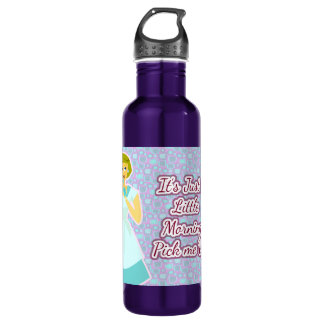 Morning Pick Me Up Sassy 50's Housewife Water Bottle