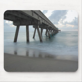 Morning Pier Mouse Pad