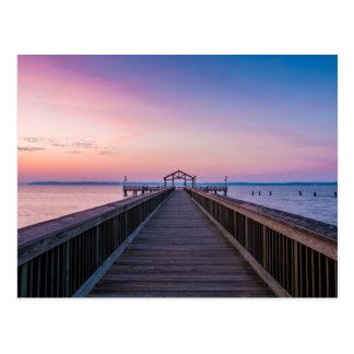 Morning Pier Postcard