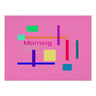 Morning Posters