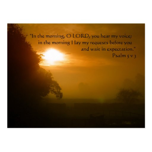 Morning Prayer   Post Cards