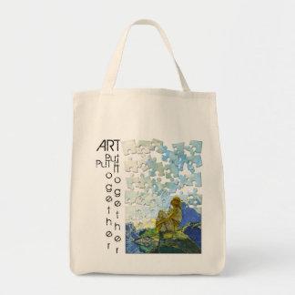 Morning Put it Together - Tote Bag