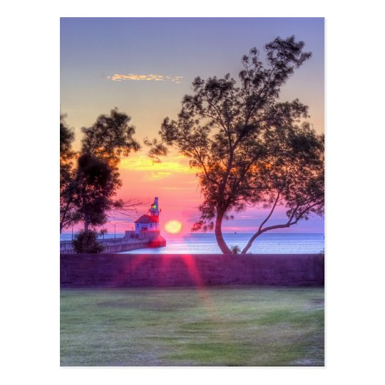 Morning Rays Postcard