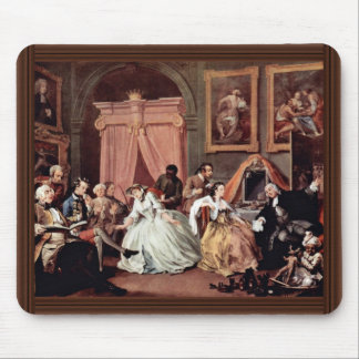 Morning Reception Of The Countess' By Hogarth Mouse Pad