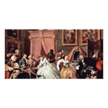 Morning Reception Of The Countess' By Hogarth Picture Card