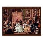 Morning Reception Of The Countess' By Hogarth Post Cards