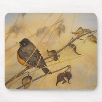 Morning Robin Mouse Pad