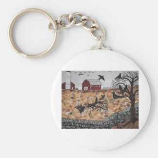 Morning Roost Keychain
