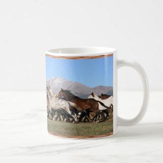 Morning Run Horses Coffee Mug