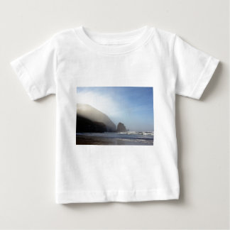 Morning sea mist at Cannibal Bay in the Catlins Infant T-shirt